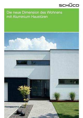 Prospekt Aluminium-Haustüren