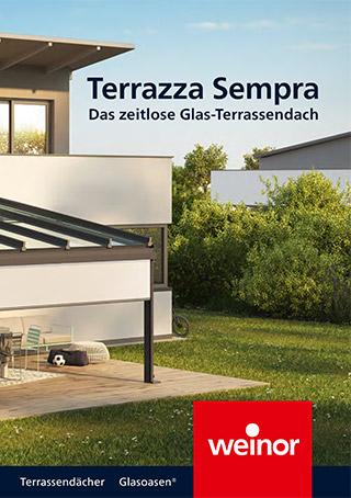 Prospekt Terrassendächer und Glasoasen