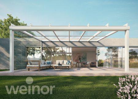 Terrassendächer und Glasoasen