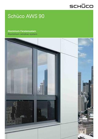 Prospekt Aluminium-Fenster