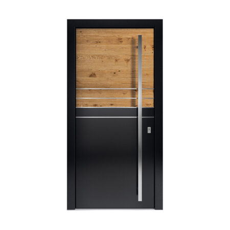 Holz-Aluminium-Haustüren