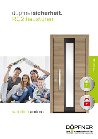 Prospekt Holz-Aluminium-Haustüren